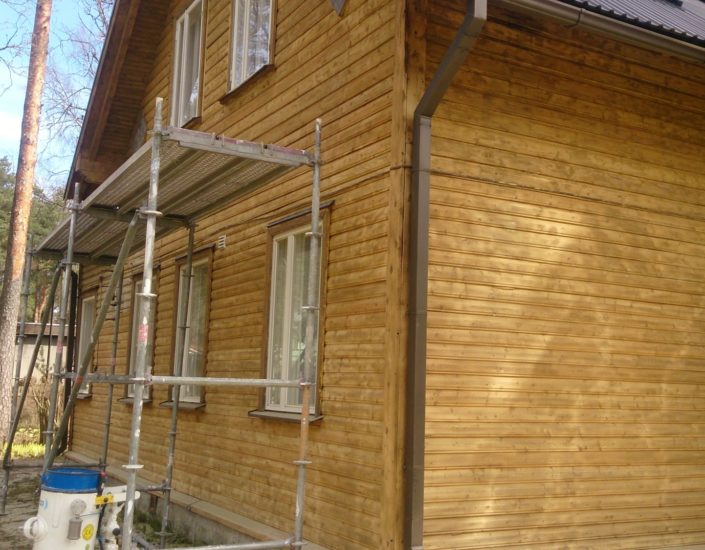 Vana maja remont Harjumaal.